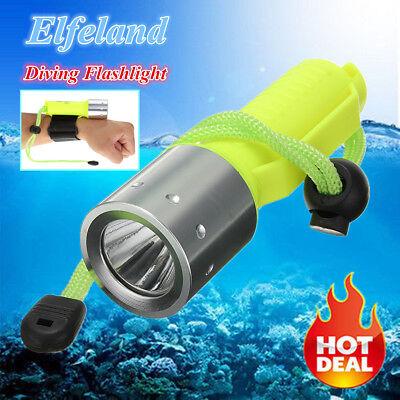 20000LM Diving Flashlight Headlamp Underwater 50M Scuba T6 LED Waterproof Light