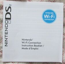 DS - Nintendo Wi-Fi Connection Instructions Booklet (Bilingual manual only)