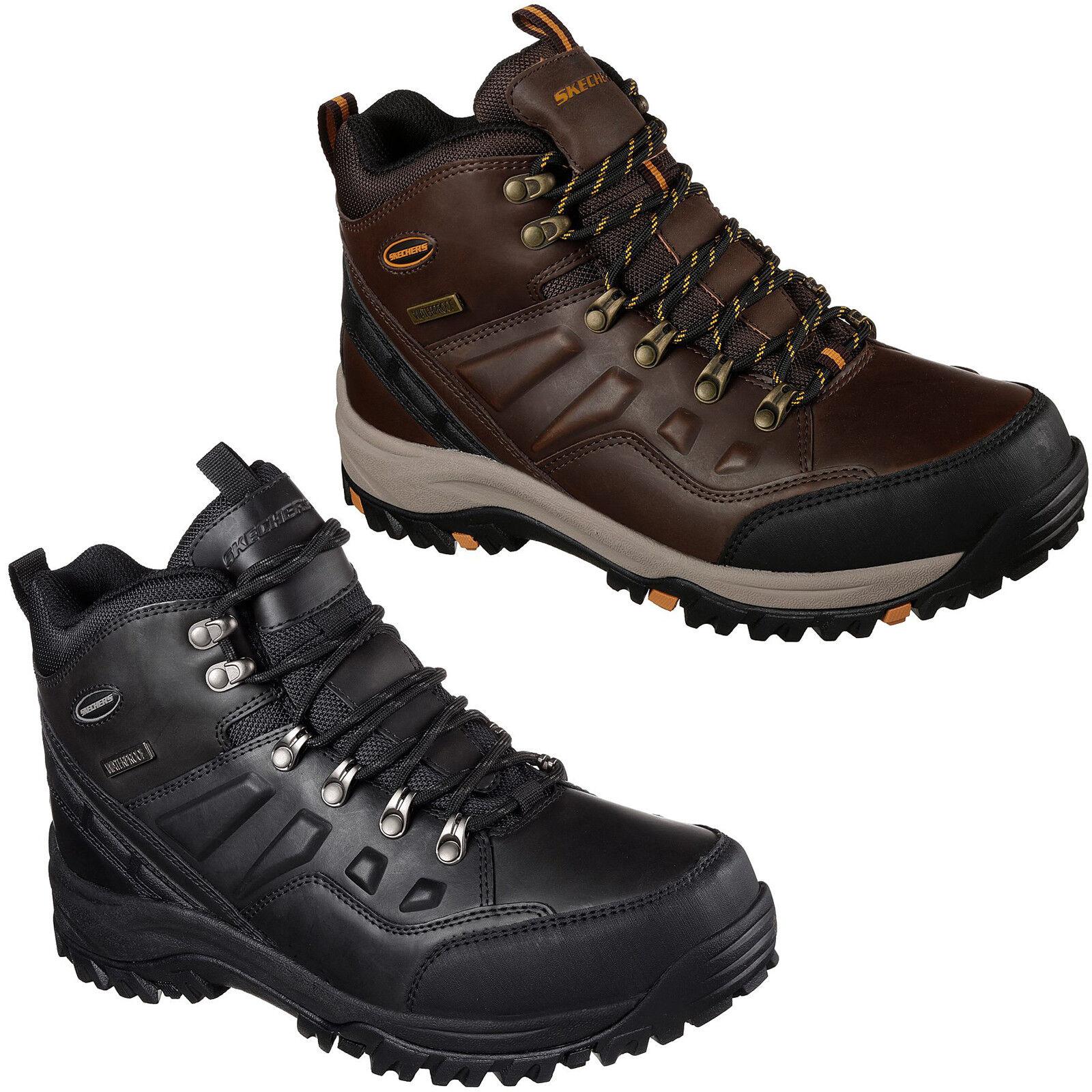 Skechers Relaxed Fit: relment-TRAVEN Trail Stivali MEMORY FOAM robusto Trail relment-TRAVEN da uomo 65529 d21872