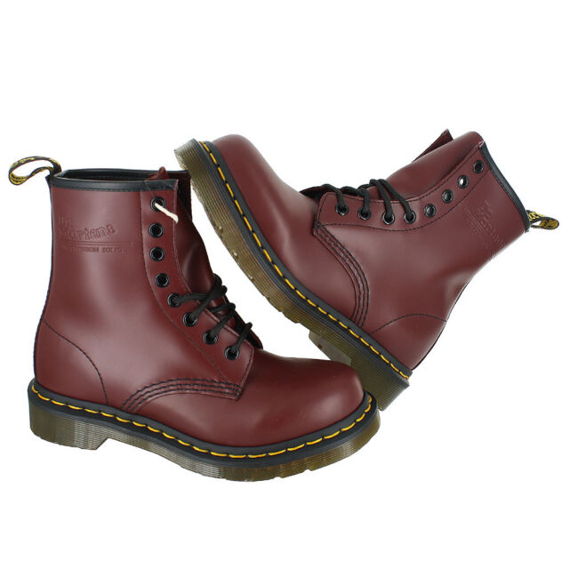 df1b404bd1a3b8 Dr. Martens Women 1460 W Cherry Red Rouge Smooth 11821600 8 for sale ...