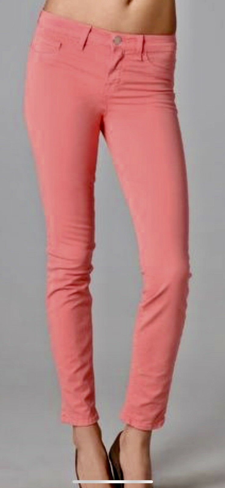 Kut From The Kloth Women's Jeans Brigitte Ankle Skinny Jeans In Coral Size 4 NWT