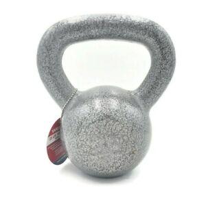 Cast Iron 25lb Kettlebell 25 Pound Home Gym Weight Workout