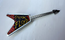 Vintage Pink Floyd pin badge Prog Heavy Rock Guitar circ 1980's