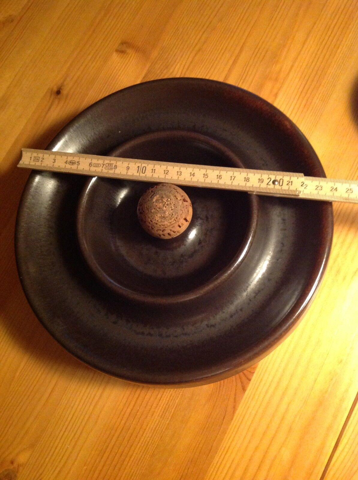 Größer Pfeifenascher, Keramik (braun), Ascher für Pfeifen & Zigarren