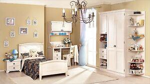 Details zu Kinderzimmer Sommer Kleiderschrank Jugendzimmer Mädchen Bett  Jugendbett 900x200