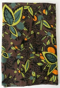 Vintage-Deadstock-Classic-Silky-Rayon-Print-Beautiful-Tropical-Pattern-3-25-Yds