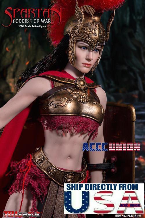 PHICEN 1 6 SPARTA  Goddess of War Female cifra Premium Set PL2017-107 U.S.A.  autorizzazione ufficiale