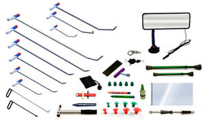 PROFESSIONAL PDR TOOLS DENT REMOVAL KITS WITHOUT PAINTING 44 ITEMS