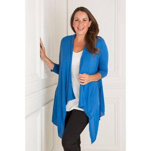 Nicole Chiffon Trim Jersey Cardigan various colours /& sizes 8-22uk
