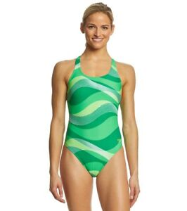 SPEEDO-Women-039-s-Race-Riderz-Super-Pro-Back-One-Piece-Competition-Swimsuit