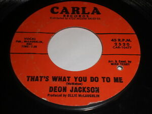 Deon-Jackson-That-039-s-What-You-Do-To-Me-I-Can-039-t-Do-45-Northern-Soul-HEAR-IT