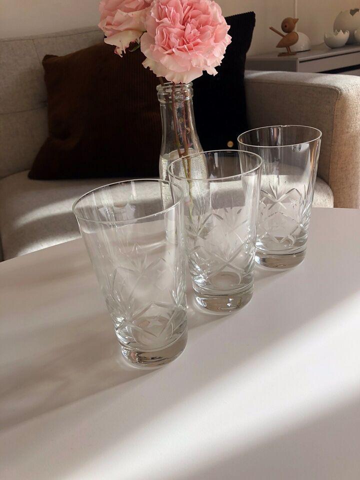 Glas, Øl glas - vand glas, Holmegaard