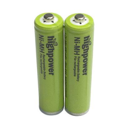 Highpower 4 AAA Ni-MH 400mAh Batteries for Panasonic Cordless Phone N4DHYYY00008