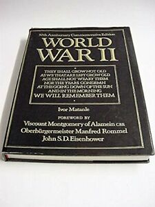World-War-II-50th-Anniversary-Commemorative-Edition-Ivor-Matanle-Book-The