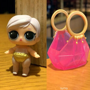 Bag FOR LOL Surprise LiL Sisters L.O.L GLITTER QUEEN doll toy SERIES 2 SDUS