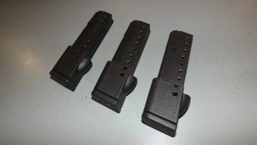 .380acp NEW 10rd Extended Magazines Clips Mags for Glock 42 3 G118