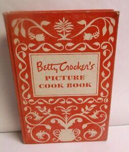 Betty crocker's picture cookbook facsimile 1st edition hardcover.