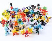 24 Pcs Mini Lovely Lots 2-4cm Pokemon Monster Mini Random Pearl Figures Toy