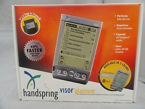 Handspring-Visor-Platinum-8MB-Handheld-PDA-Palm-Pilot-NEW-in-Box