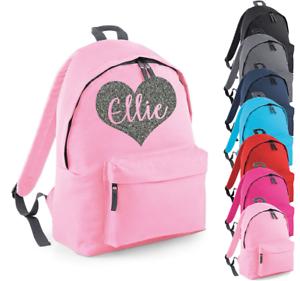 Personalised Name Bow Rucksack Backpack Back to School Bag Custom Bag Academy
