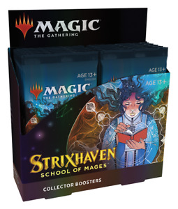 Strixhaven Collector Booster Box English Sealed Magic the Gathering