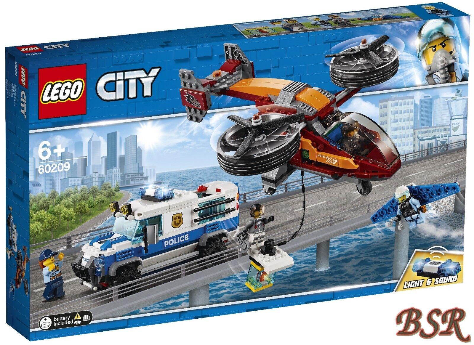 LEGO® City  60209 Polizei Diamantenraub & 0.- Versand & NEU & OVP