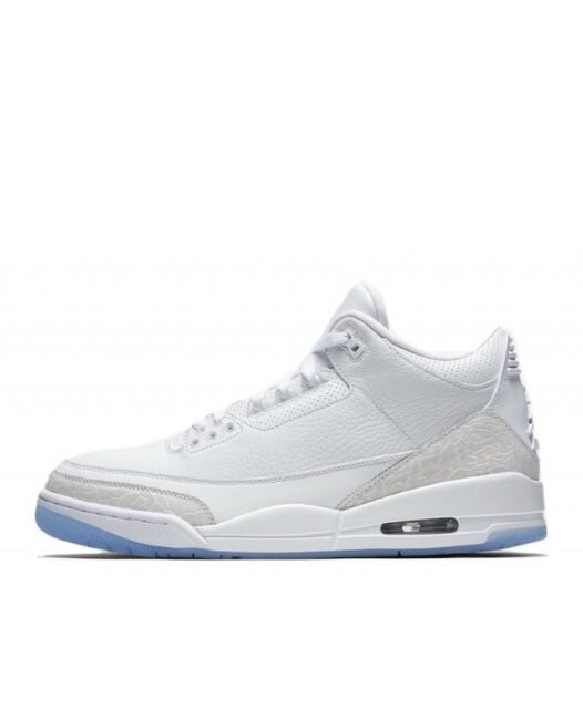 9b68e0def5d Air Jordan 3 Retro 136064-111 Pure White DS Size 10.5 for sale ...