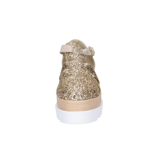 37 37 Glitter Donna Camoscio Sandali Effeel Eu Beige Bt794 Scarpe qnzxBpPw1w