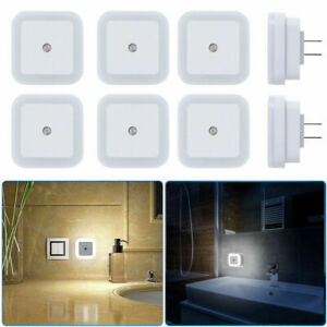 1-8-Pack-Plug-in-LED-Night-Light-Wall-Lamp-with-Dusk-to-Dawn-Sensor-White-0-5w