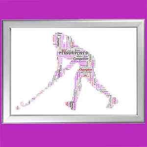 HOCKEY-WORD-ART-PRINT-Personalised-Custom-Gift-Keepsake-Her-Young-Girl-Little