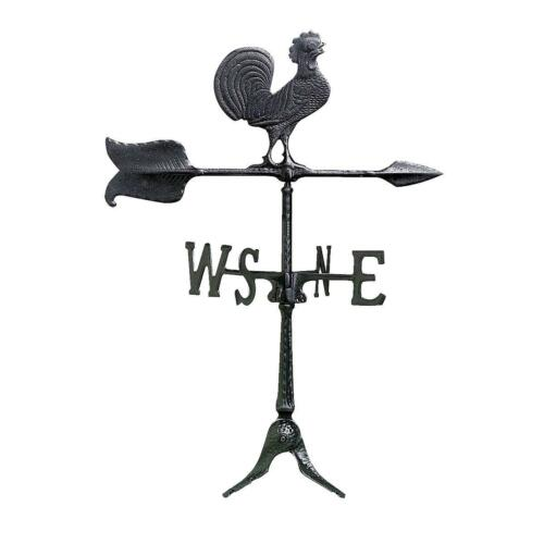 """Whitehall Products 24/"""" Blk Rooster Windvane"""
