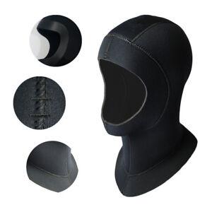 5MM-Neoprene-Swim-Swimming-Diving-Scuba-Surfing-Snorkeling-Hat-Neck-Head-Mask