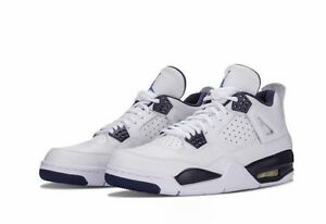 separation shoes 19d4c 3c48e Image is loading MENS-AIR-JORDAN-RETRO-4-LS-BRAND-NEW-