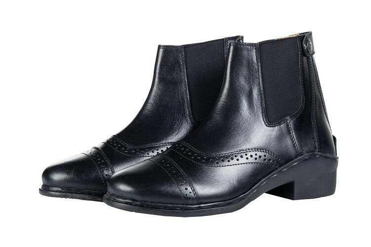 HKM Horse Riding Jodhpur Boots With Elastic And Zipper ALL SIZES & COLOURS
