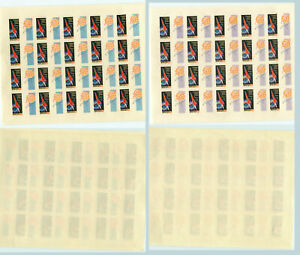 Russia-USSR-1962-SC-2578-MNH-imperf-Full-Sheet-of-20-rtb1633