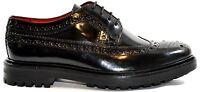 Base London Shoe Man Men Shoe Leather Perforated Brougue Sizes 7 - 12 Uk