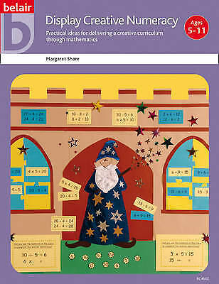 Display Creative Numeracy (Belair - A World of D... by Share, Margaret Paperback