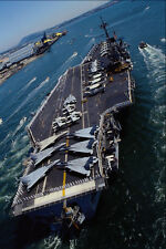 496043 USS Ranger A4 Photo Print