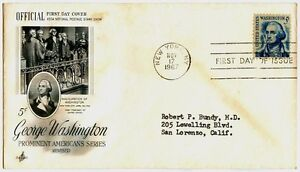 George-Washington-Prominent-Americans-Series-1967-FIRST-DAY-COVER