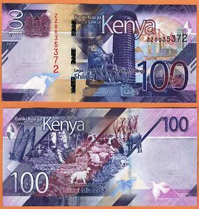 ZZ-Prefix Kenya UNC /> New Design 2019 P-New 1000 shillings REPLACEMENT