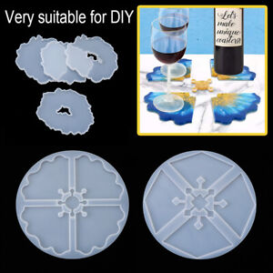 Resin Irregular Tray Mould Coaster Silicone Mould Fruit Plate Mold Table Mat