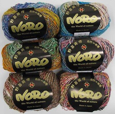50g bolas Noro Kibou-Varios Tonos