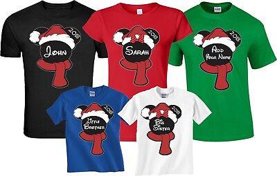 Family Christmas Shirts.Christmas New Disney Family Vacation 2018 T Shirts With Custom Names Ebay