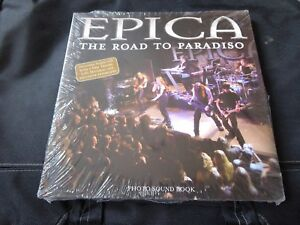 Epica-The-Road-To-Paradiso-SEALED-NEW-94-Page-Book-with-16-Track-CD-NIGHTWISH