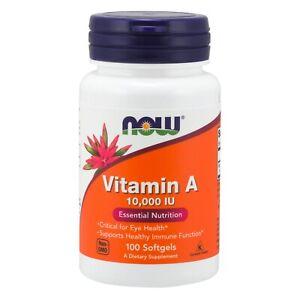 NOW-Foods-Vitamin-A-10-000-IU-100-Softgels