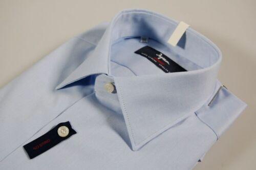 No 100 Camicia Egiziano Vestibilità Celeste Stiro Cotone Makò Regolare Ingram WWZHOv8pq