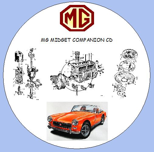 Austin Healey Sprite Mg Midget Factory Workshop Manual