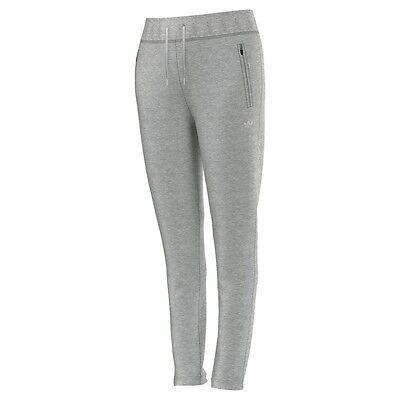 adidas Originals Slim Trackpant Cuffed Trainingshose Damen grau [AB2430] |  eBay