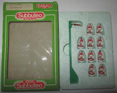Ben Informato Squadra Subbuteo - Quimper Switzerland Svizzera - Lw 63114 63000 114 Rara