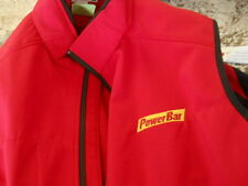 PowerBar Power Bar  vest zip up Jacket Size men's Medium NEW